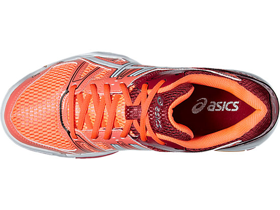 GEL-ROCKET 7 FLASH CORAL/WHITE/CERISE 19