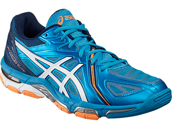 GEL-VOLLEY ELITE 3 BLUE JEWEL/WHITE/HOT ORANGE 7