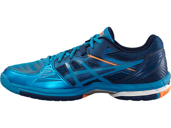 GEL-VOLLEY ELITE 3 BLUE JEWEL/WHITE/HOT ORANGE 11