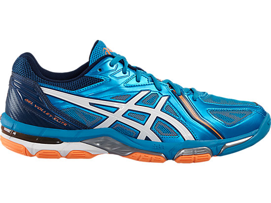 GEL-VOLLEY ELITE 3 BLUE JEWEL/WHITE/HOT ORANGE 3