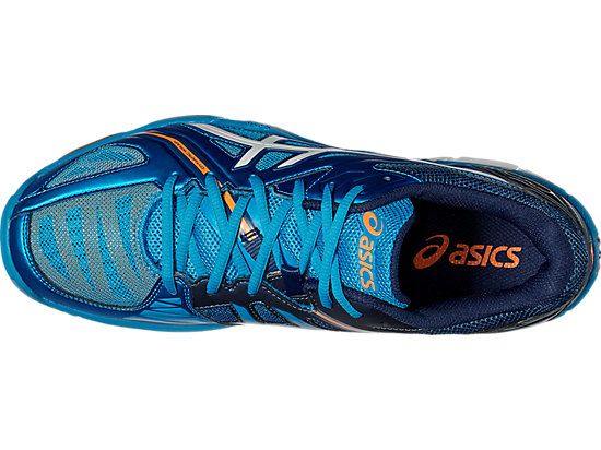 GEL-VOLLEY ELITE 3 BLUE JEWEL/WHITE/HOT ORANGE 19