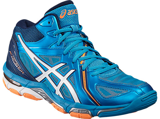 GEL-VOLLEY ELITE 3 MT BLUE JEWEL/WHITE/HOT ORANGE 7