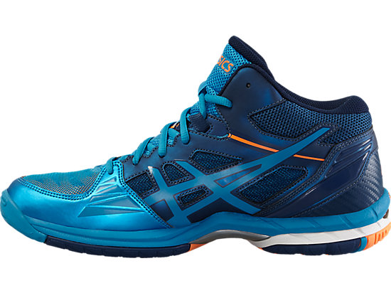 GEL-VOLLEY ELITE 3 MT BLUE JEWEL/WHITE/HOT ORANGE 11