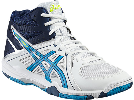 GEL-TASK MT WHITE/BLUE JEWEL/SAFETY YELLOW 7