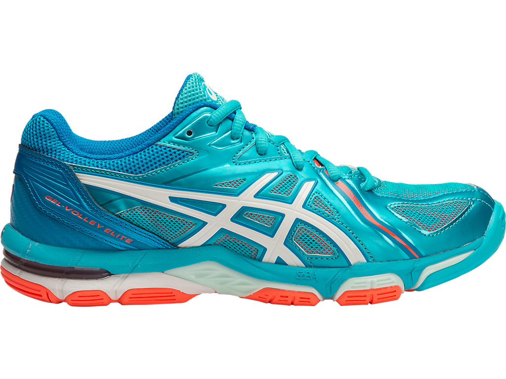GEL-VOLLEY ELITE 3 | Women | AQUARIUM/WHITE/FLASH CORAL | Women's ...