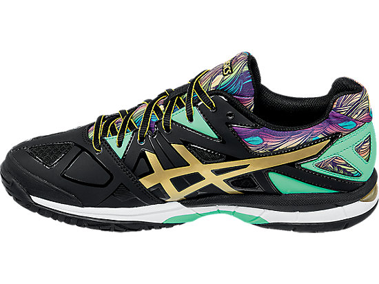 GEL-Tactic Black/Gold/Electric Green 15