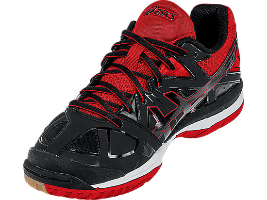 GEL-Tactic Black/Black/Fiery Red 11