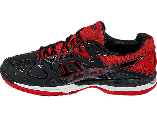 GEL-Tactic Black/Black/Fiery Red 15