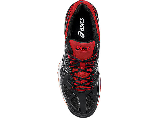 GEL-Tactic Black/Black/Fiery Red 23
