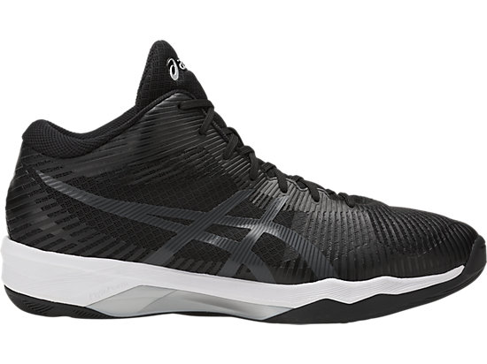VOLLEY ELITE FF MT, BLACK/DARK GREY/WHITE