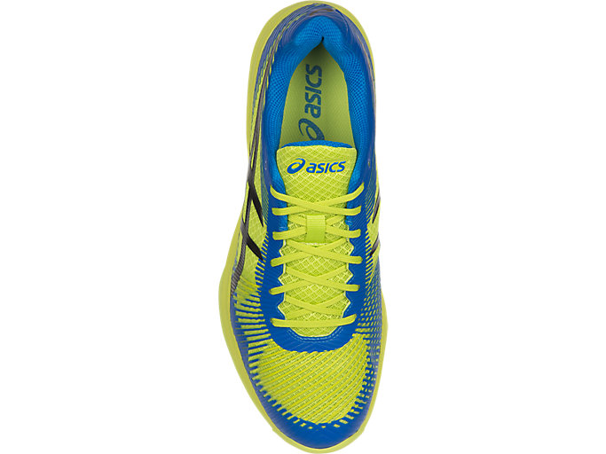 Top view of VOLLEY ELITE FF, ENERGY GREEN/DIRECTOIRE BLUE/BLACK