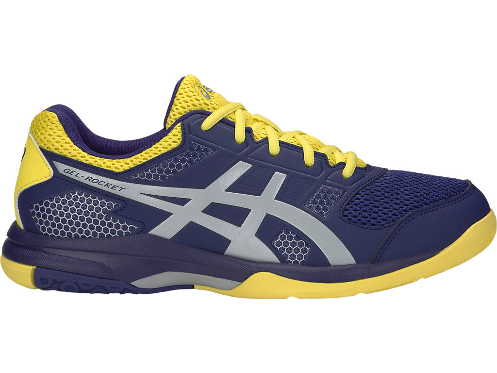 GEL-ROCKET 8 | Men | INDIGO BLUE/SILVER | Men's Squash & Badminton ...