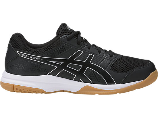 asics gel rocket noir