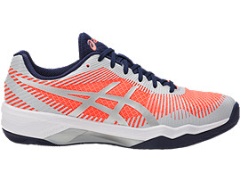 VOLLEY ELITE FF, Flash Coral/Glacier Grey/Indigo Blue