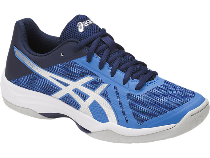 Front Right view of GEL-TACTIC, REGATTA BLUE/SILVER/INDIGO BLUE