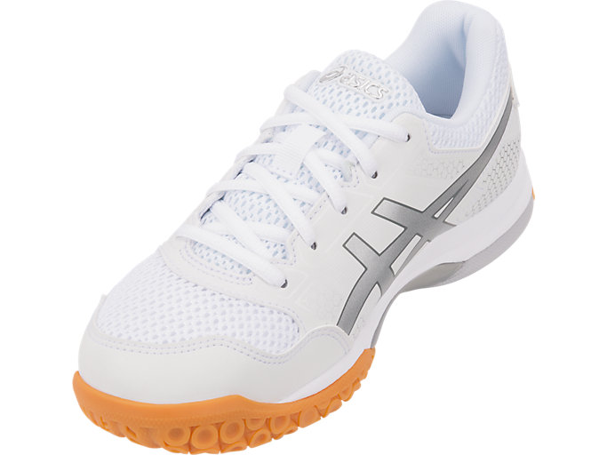 Women's GEL Rocket 8 WhiteSilverWhitevolleyballASICS WhiteSilverWhitevolleyball ASICS
