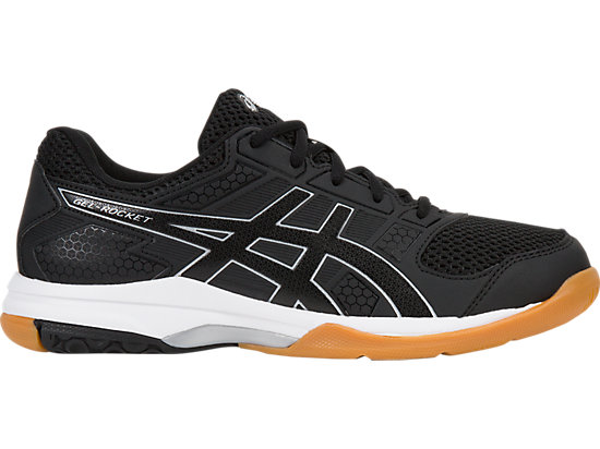 2019 Women Asics Shoes Asics Gel rocket 8 Viii White Black