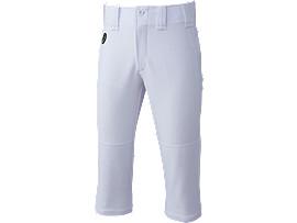 NEOREVIVE ジュニア プラクティスパンツ(ショートフィット) 楽白パンツ, ホワイト