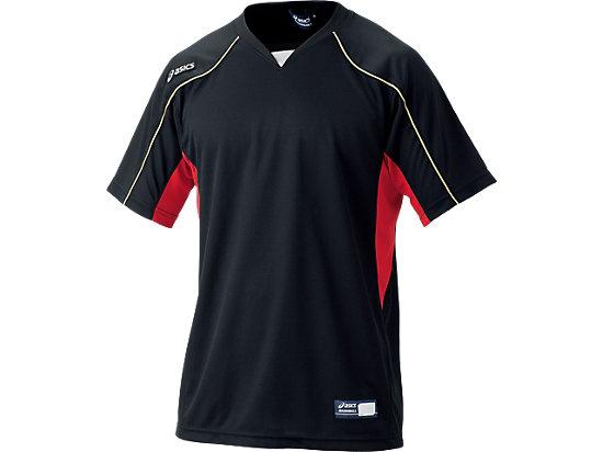 プラクティスシャツ, ブラック×レッド