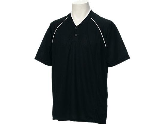 ベースボールシャツ, BLACK/BLACK/CARBON