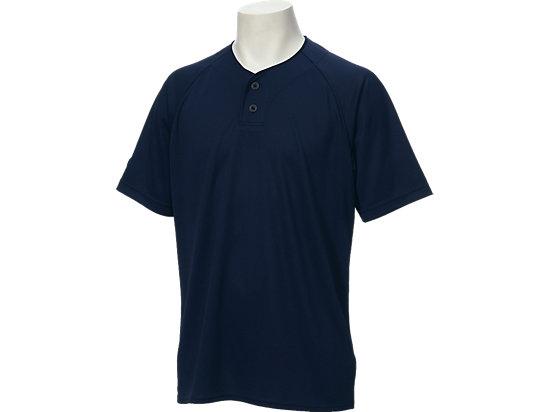 ベースボールシャツ, ネイビー