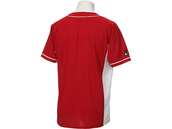 ベースボールシャツ, クラシックレッド×ホワイト