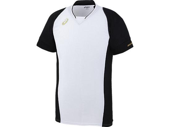 [ゴールドステージ]ブレードシャツ, ホワイトxブラック