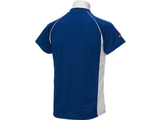 Jr.ベースボールシャツ, ロイヤル×ホワイト
