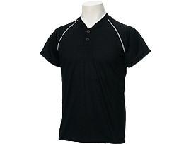 Jr.ベースボールシャツ, BLACK/BLACK/CARBON