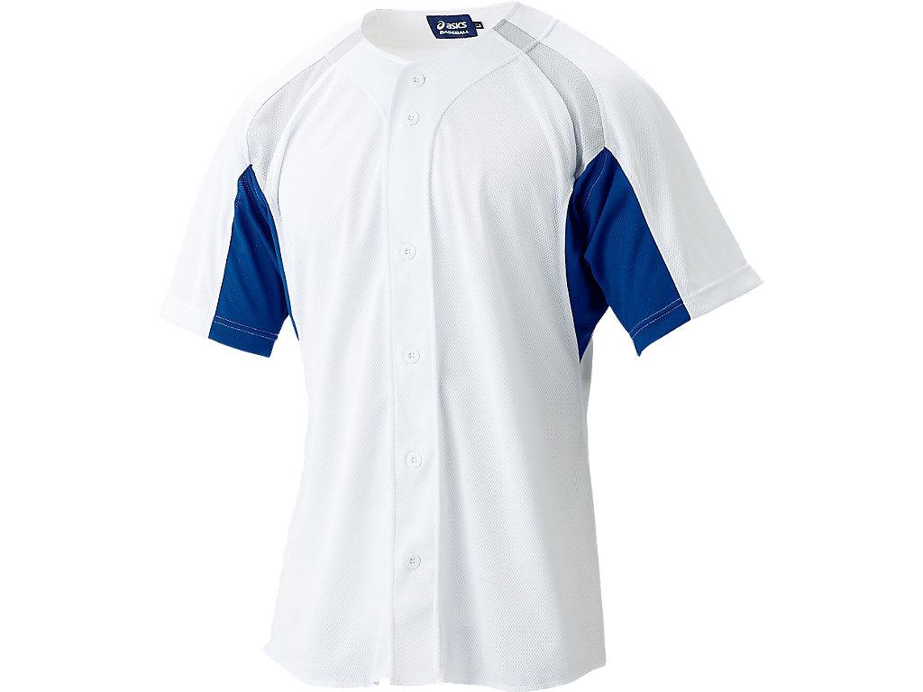 ゲームシャツ:ホワイト×ロイヤル