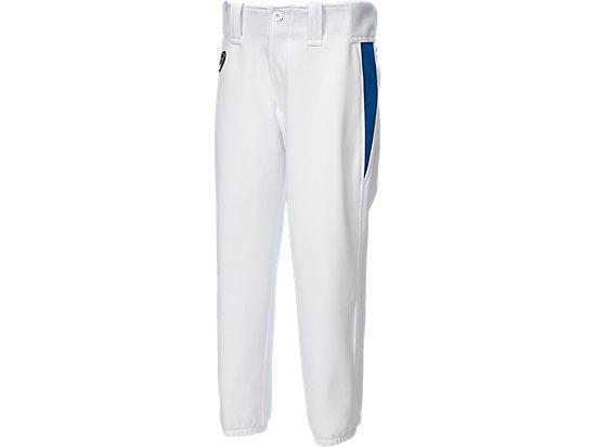 Jr.ユニフォームパンツ, WHITE/DIRECTOIRE BLUE/FIERY RED