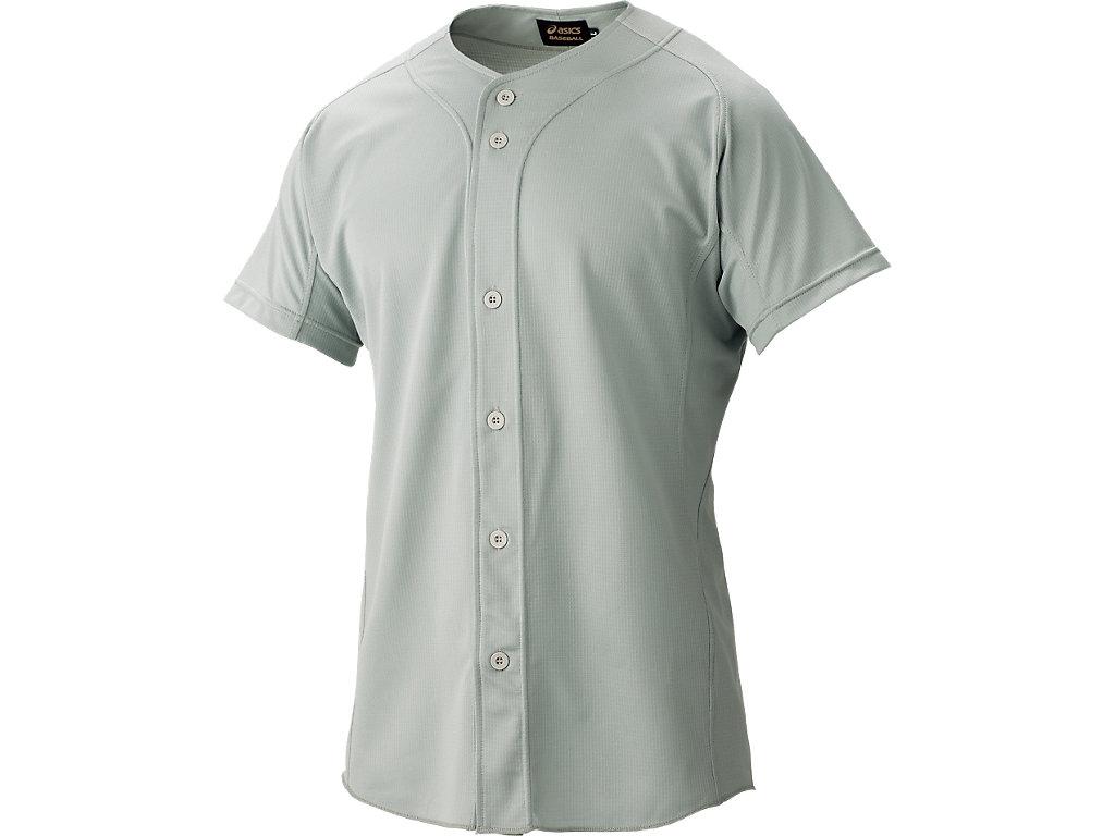 [ゴールドステージ]スクールゲームシャツ:グレー