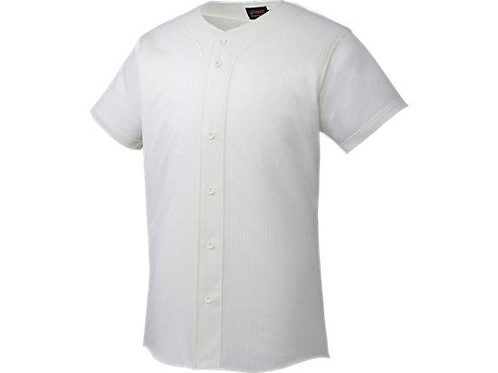 [ゴールドステージ]スクールゲームシャツ, オフホワイト