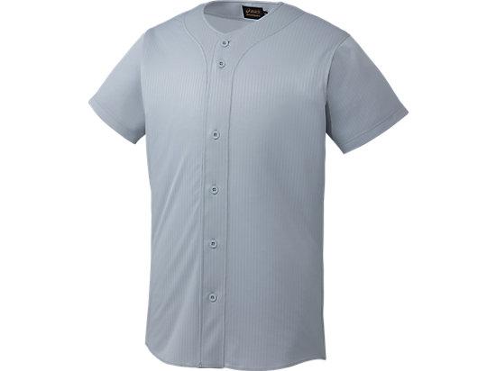 [ゴールドステージ]スクールゲームシャツ, シルバー