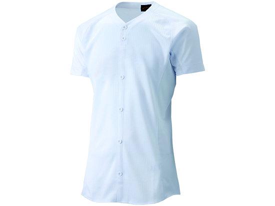 [ゴールドステージ]スクールブレードゲームシャツ (ダミーオープン), ホワイト