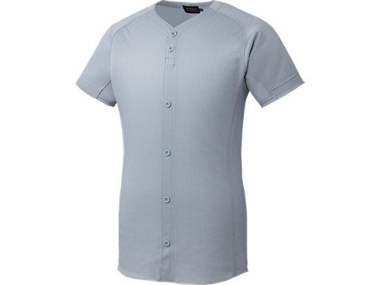 [ゴールドステージ]スクールブレードゲームシャツ (ダミーオープン), シルバー