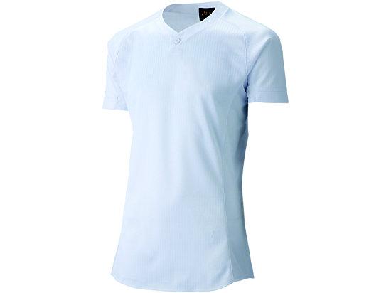 [ゴールドステージ]スクールブレードゲームシャツ (1ボタン), ホワイト