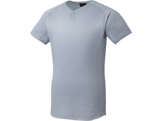 [ゴールドステージ]スクールブレードゲームシャツ (1ボタン), シルバー