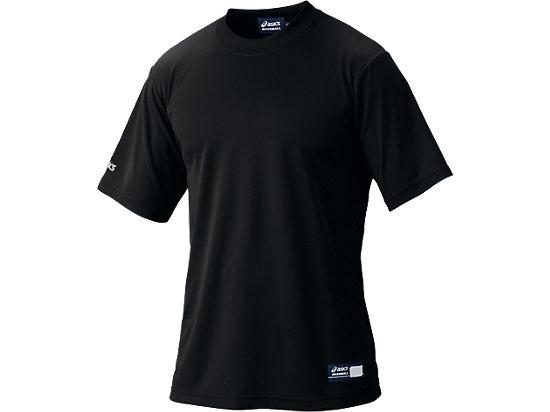 ベースボールTシャツ, ブラック