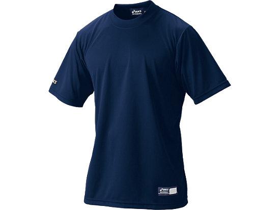 ベースボールTシャツ, ネイビー