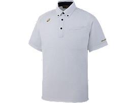 [ゴールドステージ]ボタンダウンシャツ, ホワイト
