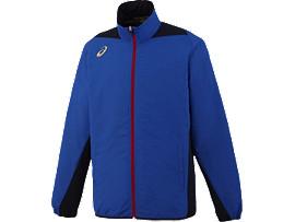 [ゴールドステージ]クロスアップジャケットLS, ブルー×ネイビー