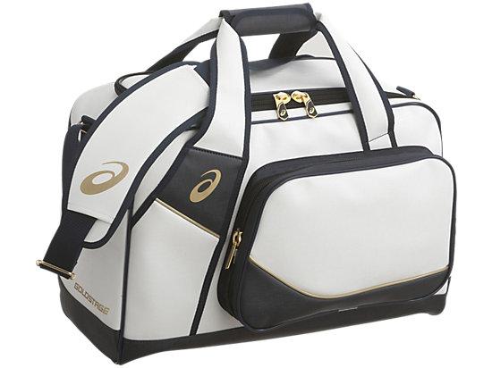 [ゴールドステージ]セカンドバッグ, ホワイト×ネイビー