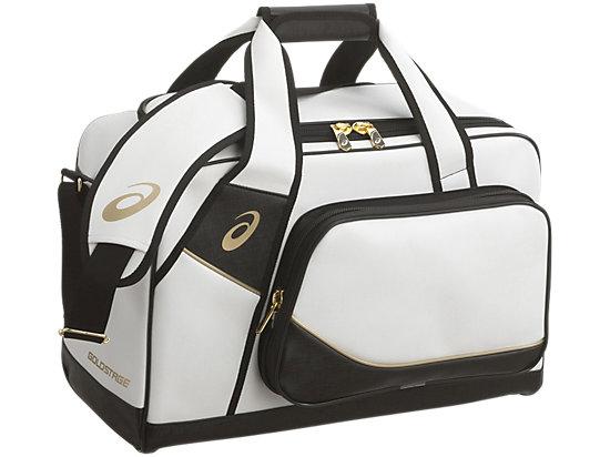[ゴールドステージ]セカンドバッグ, ホワイトxブラック