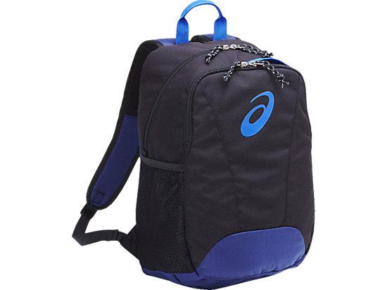 ジュニア用バックパック M, BLACK/DIRECTOIRE BLUE/BLACK