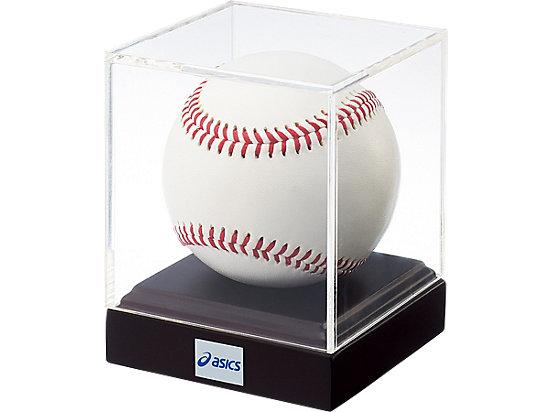 アクリルボールケース(小:硬式ボールサイズ), ナチュラル