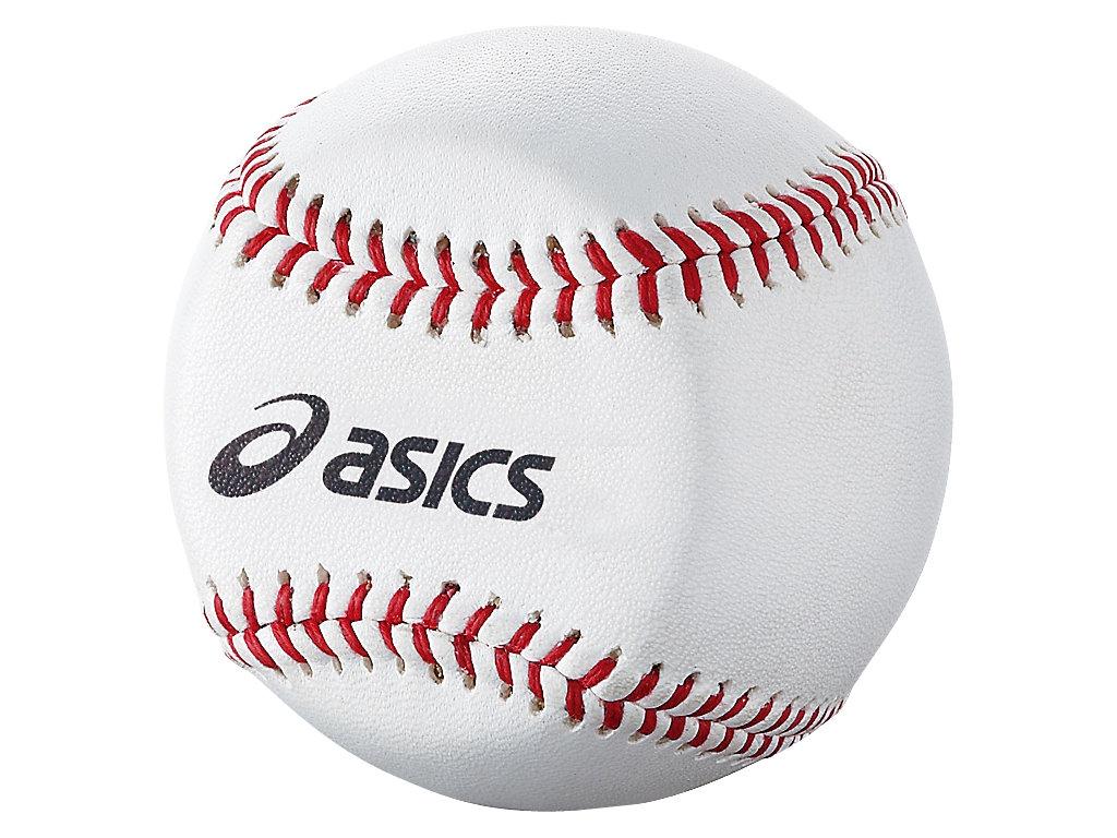 【ASICS/アシックス】 トレーニング用ボールアイディアルスロー(硬式用) ホワイト_BEEIS1