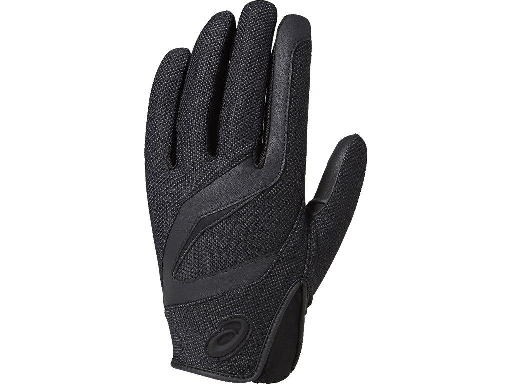 [ゴールドステージ]守備用手袋(片手):ブラック×ブラック