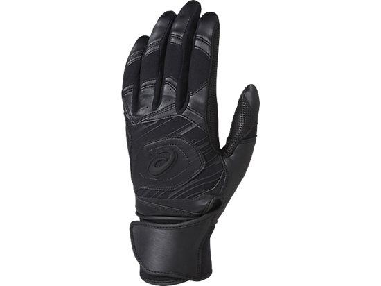 [ゴールドステージ]SPEED AXEL バッティング用手袋(両手), BLACK/BLACK/CARBON