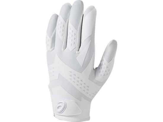 [ゴールドステージ]SPEED AXEL 守備用手袋(片手), WHITE/WHITE/CARBON